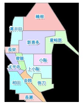 地域内医院マップ